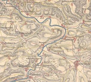 Landkreis Esslingen Historische Karten