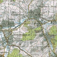 utm karte Landkreis Esslingen: Freizeitkarten, Topographische Karten utm karte
